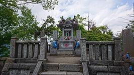 三峯神社奥宮頂上