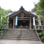 天津神明宮拝殿